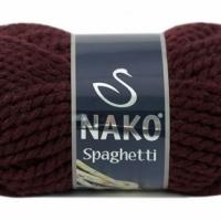 Пряжа Nako Spaghetti (Пряжа Nako Spaghetti, цвет 10712 т. бордо)