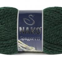 Пряжа Nako Spaghetti (Пряжа Nako Spaghetti, цвет 3444 зеленый остров)
