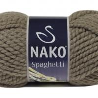 Пряжа Nako Spaghetti (Пряжа Nako Spaghetti, цвет 6577 буффоло)