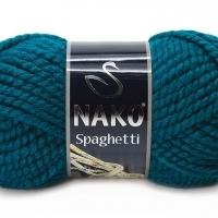 Пряжа Nako Spaghetti (Пряжа Nako Spaghetti, цвет 2273 т. морская волна)