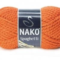 Пряжа Nako Spaghetti (Пряжа Nako Spaghetti, цвет 6963 оранжевый)