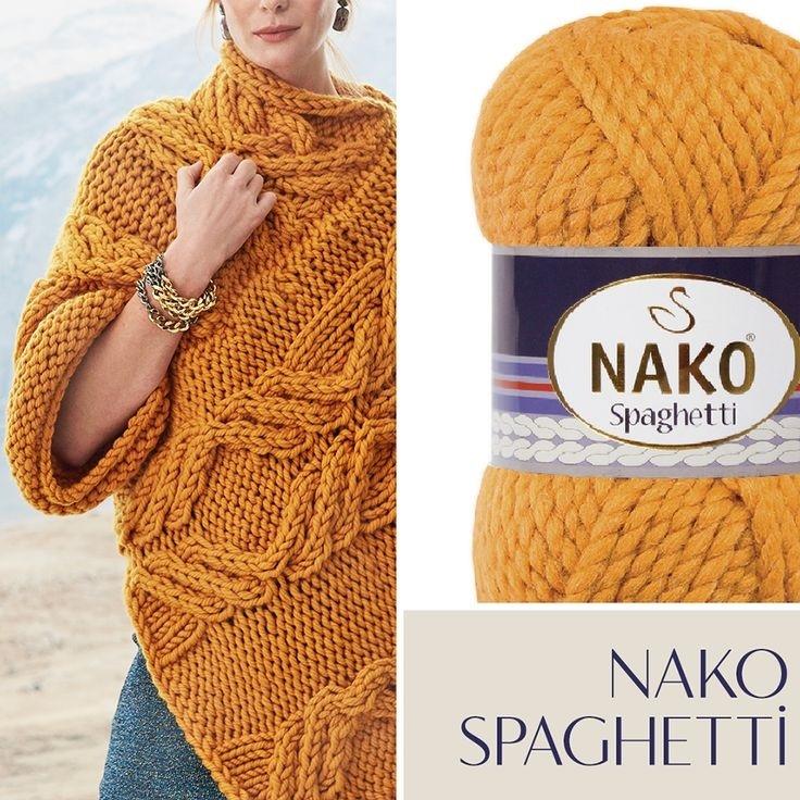 Пряжа Nako Spaghetti Effect