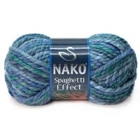 Пряжа Nako Spaghetti Effect (Пряжа Nako Spaghetti Effect, цвет 7602)