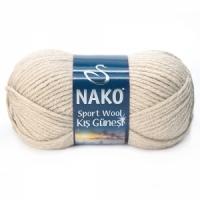 Пряжа Nako Sport Wool Kis Gunesi