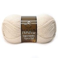 Пряжа Nako Superlambs Special (6383 грибной)