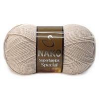 Пряжа Nako Superlambs Special (1199 св.бежевый)