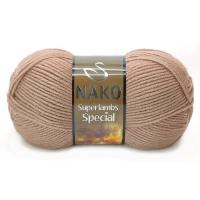 Пряжа Nako Superlambs Special (11516 светло-кофейный)