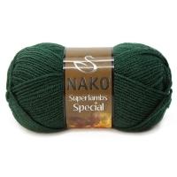 Пряжа Nako Superlambs Special (3601 изумрудный)