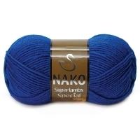Пряжа Nako Superlambs Special (1599 василек)