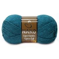 Пряжа Nako Superlambs Special (23463 морская волна)