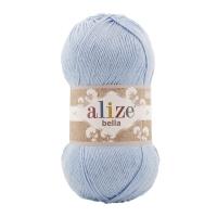 Пряжа Ализе Белла 100 (40 голубой)