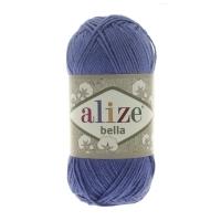 Пряжа Ализе Белла 100 (333 ярко-синий)