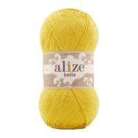 Пряжа Ализе Белла 100 (488 желтый)