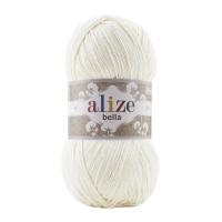 Пряжа Ализе Белла 100 (62 молочный)