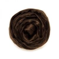 Волокно для валяния вискоза Троицкая (3806 коричневый)
