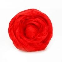 Волокно для валяния вискоза Троицкая (0042 красный)