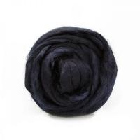 Волокно для валяния вискоза Троицкая (0140 черный)