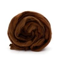 Волокно для валяния вискоза Троицкая (416 св.коричневый)