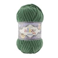 Пряжа Ализе Веллюто (15 водяная зелень)