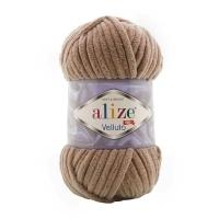 Пряжа Ализе Веллюто (329 молочно-коричневый)