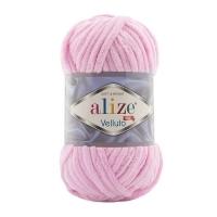 Пряжа Ализе Веллюто (31 детский розовый)