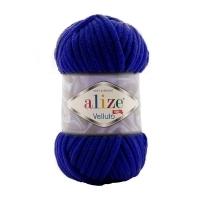 Пряжа Ализе Веллюто (360 т.синий)