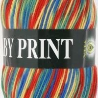 Пряжа Vita Baby Print (4882 радуга)