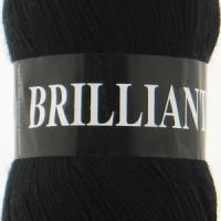 Пряжа Vita Brilliant (4952 черный)