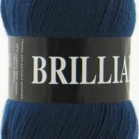 Пряжа Vita Brilliant (4955 джинсовый)
