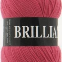 Пряжа Vita Brilliant (4960 т.красн.коралл)