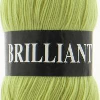 Пряжа Vita Brilliant (4962 желто-зеленый)