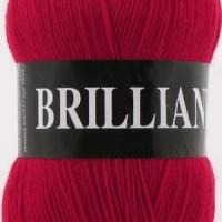 Пряжа Vita Brilliant (4968 красный)