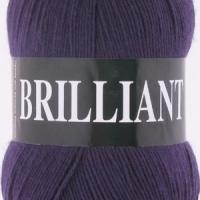 Пряжа Vita Brilliant (4977 т.фиолетовый)