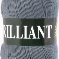 Пряжа Vita Brilliant (4980 серый)