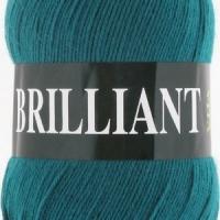 Пряжа Vita Brilliant (4981 т.зелен.бирюза)