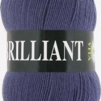 Пряжа Vita Brilliant (4982 т.серо-голубой)