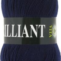 Пряжа Vita Brilliant (4990 т.синий)