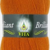 Пряжа Vita Brilliant (4998 терракот)