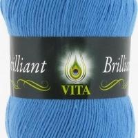 Пряжа Vita Brilliant (5113 яр.голубой)