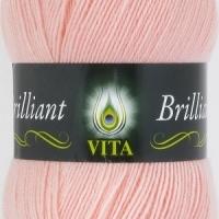 Пряжа Vita Brilliant (5109 нежно-розовый)