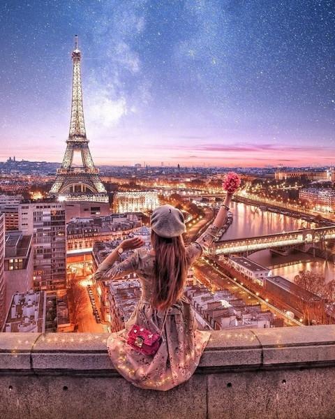 Картина по номерам  GX 34558 Любимый Париж 40*50 см