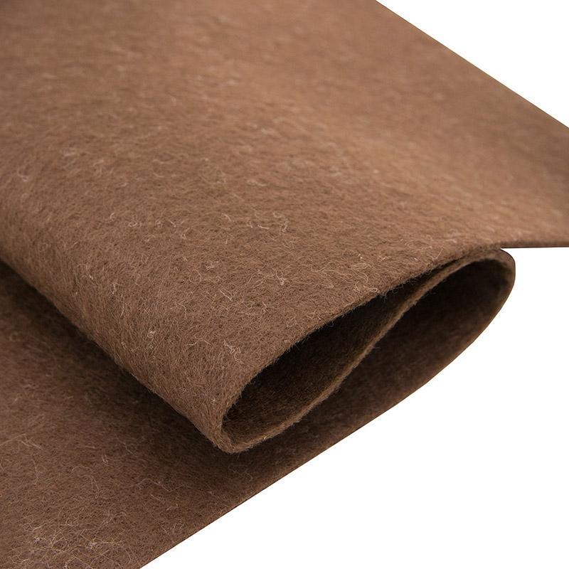 Фетр листовой Астра 1мм 20х30см YF622 коричневый 7708618, 1 шт
