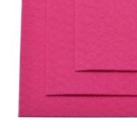Фетр листовой жест. FLT-H1 1мм 20х30см 609 яр.розовый IDEAL, 1 шт (яр.розовый)