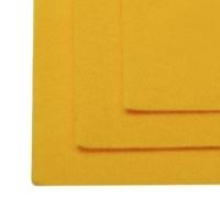 Фетр листовой жест. FLT-H1 1мм 20х30см 640 т.желтый IDEAL, 1 шт (т.желтый)