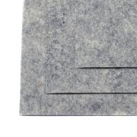Фетр листовой жест. FLT-H1 1мм 20х30см 657 мрамор IDEAL, 1 шт (657 мрамор)