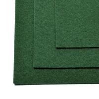 Фетр листовой жест. FLT-H1 1мм 20х30см 667 т.зеленый IDEAL, 1 шт (667 т.зеленый)