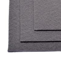 Фетр листовой жест. FLT-H1 1мм 20х30см 694 серый IDEAL, 1 шт (694 серый)