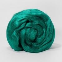 Волокно для валяния нейлон Троицкая, 50г (2286 зеленый луг)
