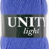 Пряжа Vita Unity Light (6040 ярко-синий)