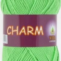 Пряжа Vitа cotton Charm (4502 салатовый)